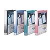 齐心 NF407A-S 活页资料册 A4 40袋30孔塑胶夹