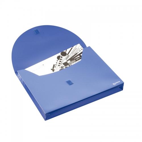 齐心 C305 办公必备 超保密文件袋 A4 粘扣式