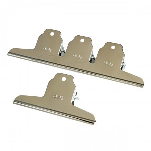 9531·1.4只装·山形·得力·铁票夹(145mm)