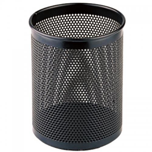 齐心 B2002 圆笔筒 金属网格