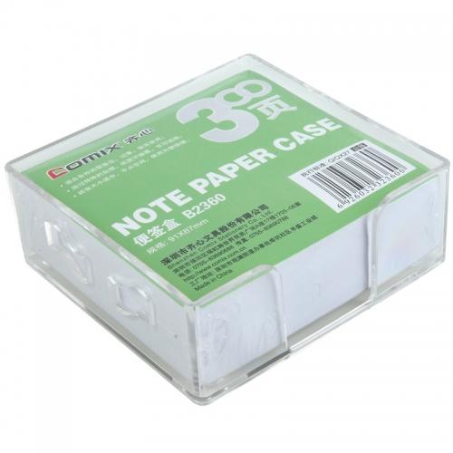 齐心 B2360 简便易取便签盒 9187MM纸