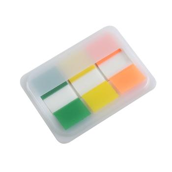 齐心 D6016 荧彩系列标签易事贴 X3色(盒)