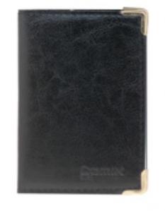 齐心 NU36 便携式软皮名片册 36枚