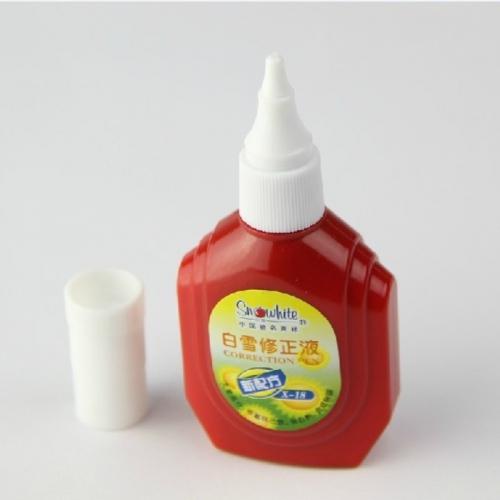 白雪经典瓶型修正液 X-18