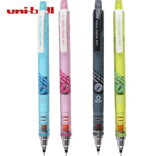 三菱透明杆自动转芯活动铅笔 M5-450T