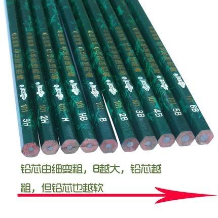 中华铅笔(12支/盒) 101  4B