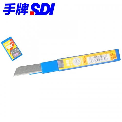 手牌高韧钢材小美工刀片 1403S
