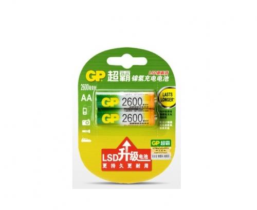 超霸充电电池 5号 2600毫安
