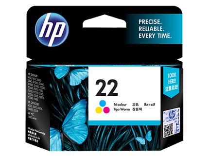 HP惠普 C9352AA 22 彩色墨盒