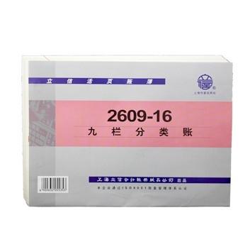 立信 2609-16 九栏分类账 16K