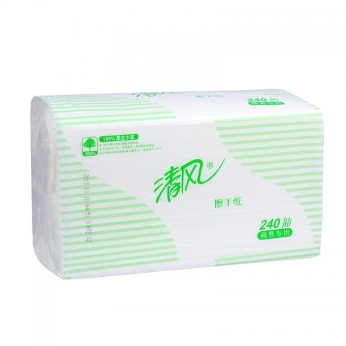 清风擦手纸 B900A