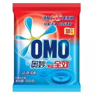 奥妙净蓝全效无磷洗衣粉300克