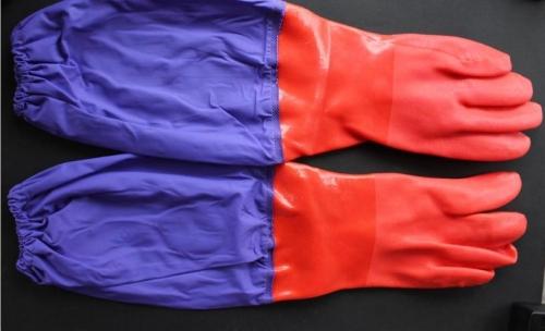 东亚802加长型耐酸碱手套