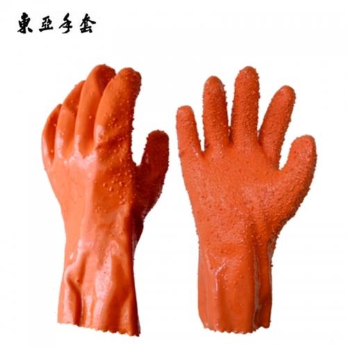 东亚807防滑浸塑手套
