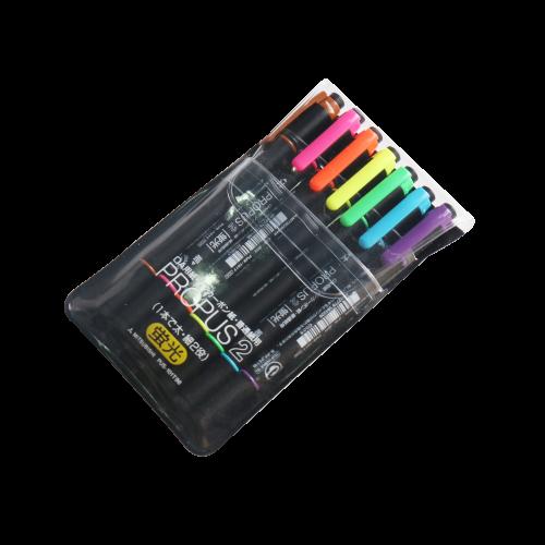 三菱双头荧光笔(7色装) PUS-101T/7C